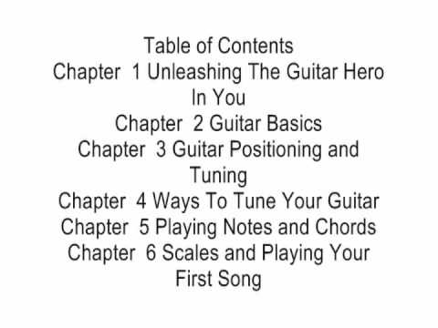 Learn The Guitar eBook Beginners Guide To Playing The Guitar