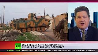 US halts ground operations against ISIS in eastern Syria amid Turkish offensive