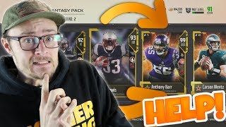 PACKS LEFT US WITH THE TOUGHEST DECISION (HELP!)... MADDEN PACKED OUT