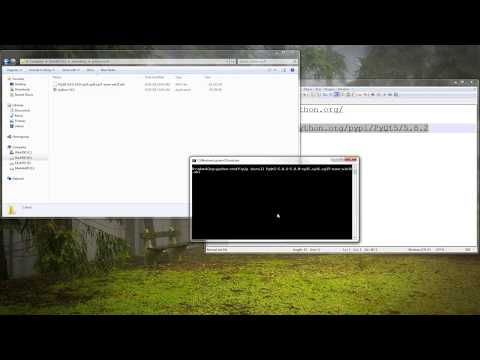 How to install PyQt5 on Windows 7/8/8.1/10