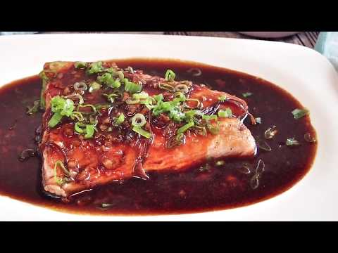 SUPER EASY RECIPE: Oriental Style Salmon in Ginger & Garlic Sauce