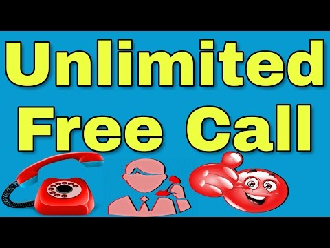 Unlimited FREE Call from internet to Any Mobile/Landline Even on 2G