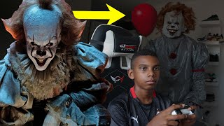 """MY PARENTS PRANKED ME WITH THE """"IT"""" SCARY CLOWN"""