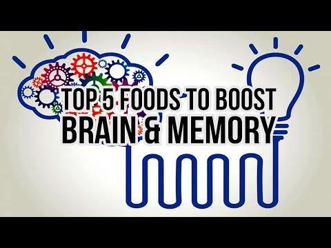 Top 5 Foods to boost Brain & Memory Power