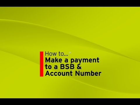 Make a payment to a BSB & Account Number (Mobile Banking App)