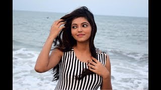 Actress Athulya Ravi latest Photo Shoot New Cleavage \u0026 Navel Videos launch at Exclusive!!!
