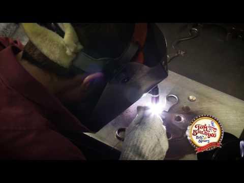 Tom Balding Bits & Spurs: Welding a Shank