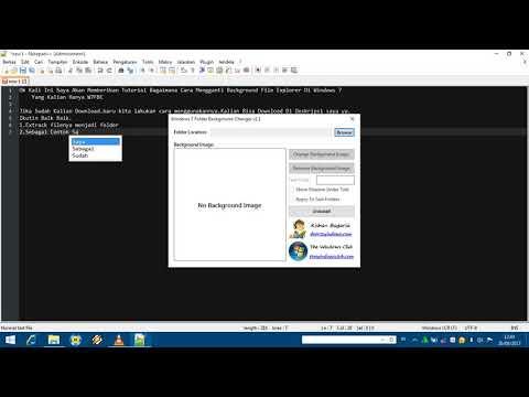 Cara Mengganti Background File Explorer Di Windows 7
