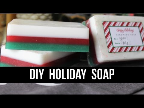 DIY Holiday Soap (Super Easy + Packaging Ideas!) | Royalty Soaps