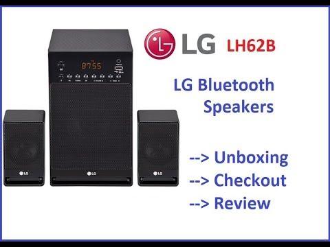 LG LH62B Bluetooth Speakers