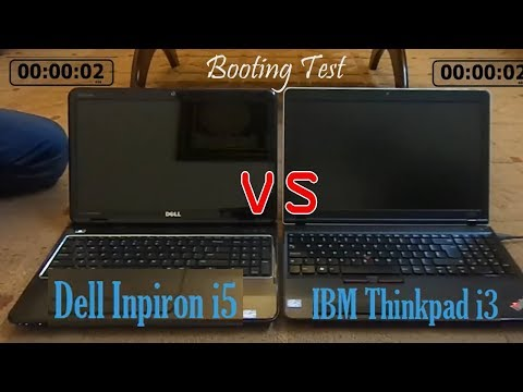 Lenovo Thinkpad i3 vs Dell Inspiron N5110 i5 (Which Laptop is Best Speed Test Challenge)