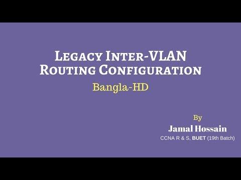 Legacy Inter-VLAN Routing Configuration (Bangla)-HD