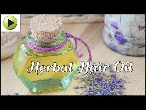 DIY Herbal Hair Oil