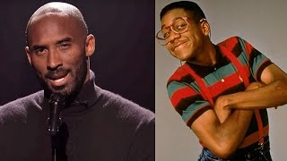 Kobe Bryant Does a HILARIOUS Slam Poem About Steve Urkel on the Tonight Show