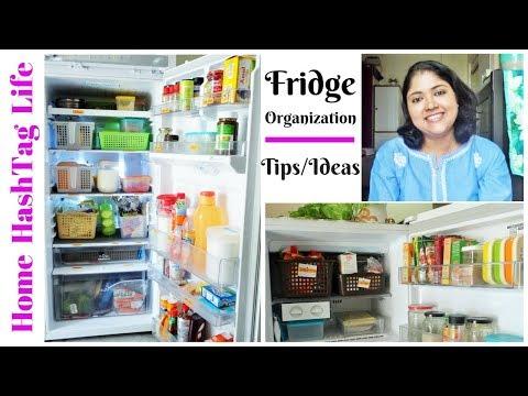 Fridge Organization Ideas l Indian Fridge Tour l How To Organize Fridge / Refrigerator