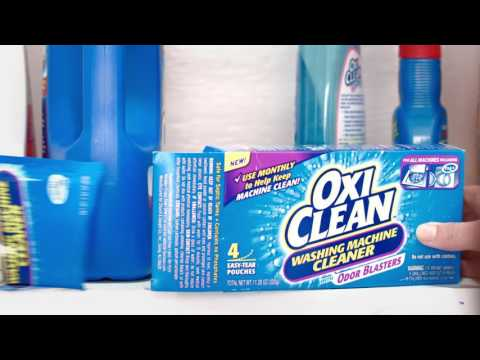 How to Clean a Washing Machine with OxiClean™ Washing Machine Cleaner