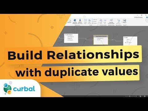 Building relationships between tables when both have duplicates