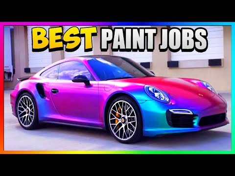 TOP *THREE* Best Rare PAINT JOBS In GTA 5 Online |