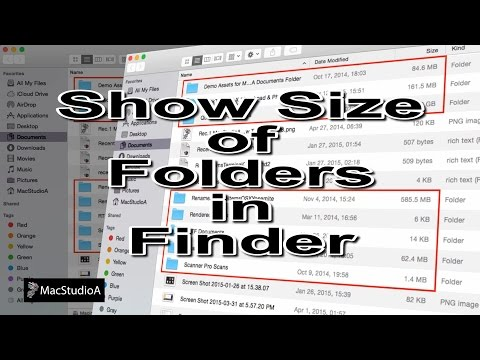 How To Show File and Folder Info in Finder