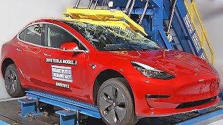 Download Tesla Model 3 crash test Video