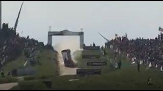 WRC Rally de Portugal 2017 - Power Stage Fafe - Acidente de Quentin Gilbert