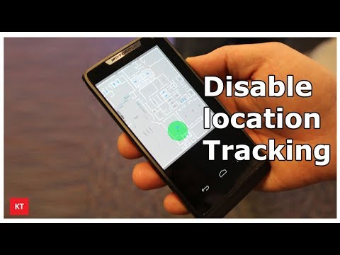 How to turn off location tracking in android phone