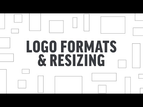 What Formats to Request & How to Resize Logos