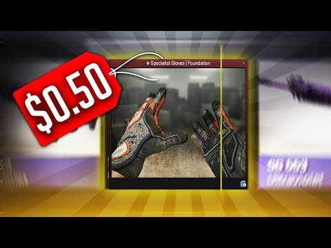 The $0.50 CS:GO GLOVES | UNBOXING