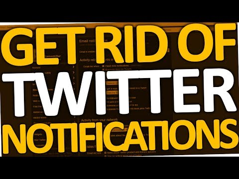 How to Get Rid of Twitter Email Notifications (2017)
