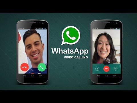 whatsapp video call !!! demo