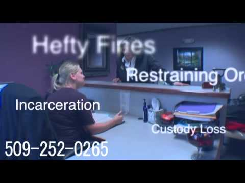 Spokane Domestic Violence Attorney Ritzville Restraining Order Lawyer Washington