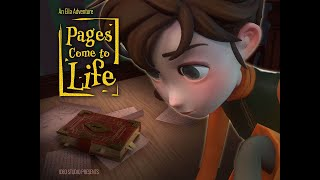 Pages Come to Life 🔖 Ella's Magic Land 🏰 Kids Movies | Animation Movies | Animation Short Film