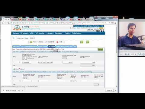 HOW TO TAKE TCS CREDIT OF CAR LOAN AMOUNT IN TAX RETURN|  TAX COLLECTED AT SOURCE|AY 2018 19