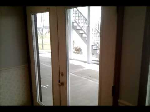 Replacing A French Door Tempered Glass Pane - DIY