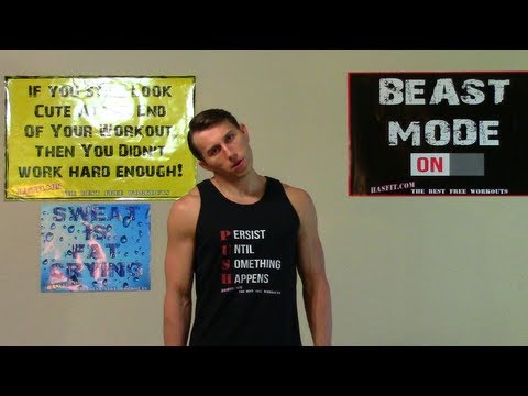 Get Rid of Double Chin Exercises - HASfit Neck Workouts - Lose Double Chin Exercise Workout