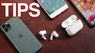 How To Use The AirPods Pro - Tips & Tricks
