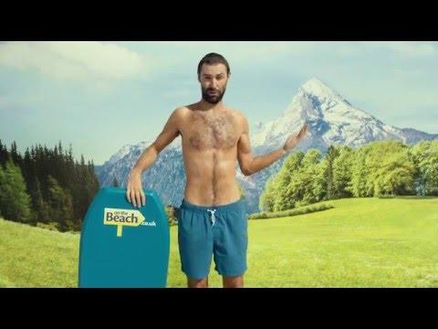 On the Beach - Brand new totally beachin' TV ad