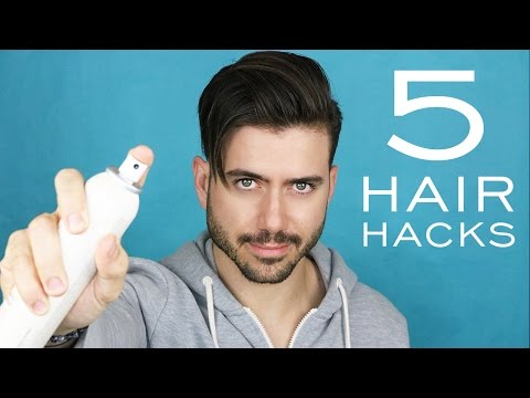5 MENS HAIR HACKS TO HAVE A BETTER HAIRSTYLE | Tips to style your hair!