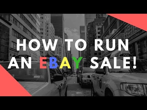 How to Run an eBay Sale to INCREASE your slow sales!