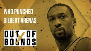 Gilbert Arenas Gets Punched | Out of Bounds