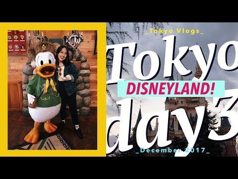 Tokyo Disneyland! (Japan Day 3) / vlog.25