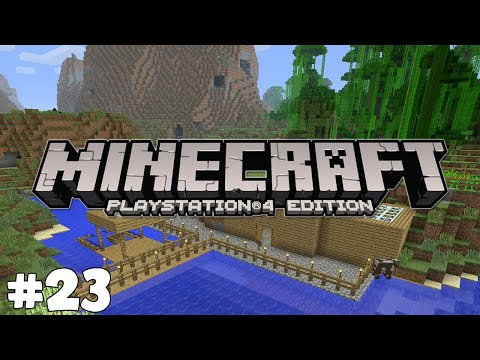 Minecraft PS4 - SOMEONE IS IN MY WORLD?! - Survival [23]