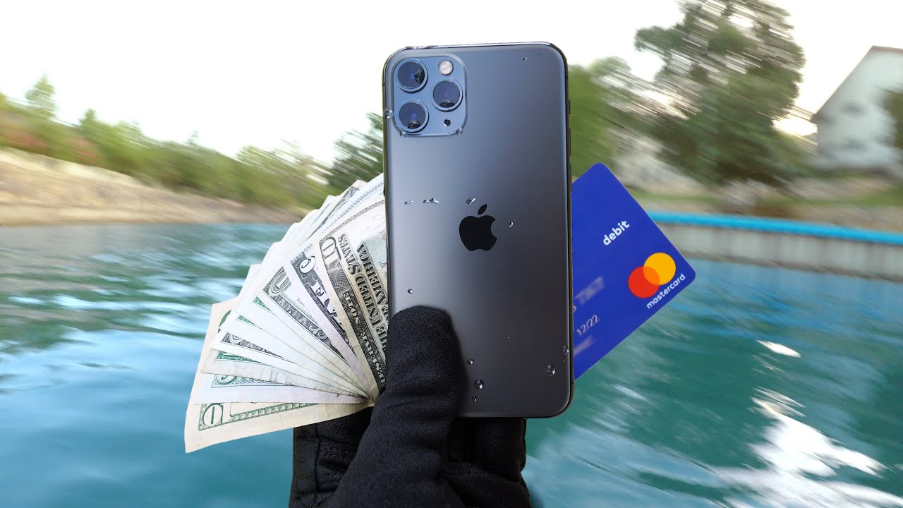 Found iPhone 11 Pro Underwater - How Waterproof Is It?!