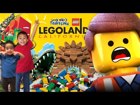 Ninjago Ride at Legoland California & SEA LIFE Aquarium in Carlsbad: Traveling with Kids