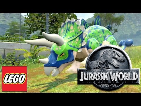 LEGO Jurassic World - HD Dino, Hub, DLC Game-Play