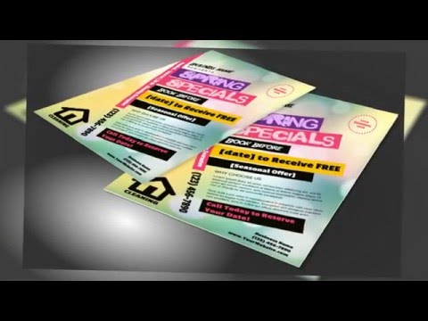 Business Flyers for Your House Cleaning Business