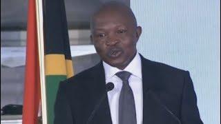 Deputy Pres DD Mabuza delivers Sam Nzia