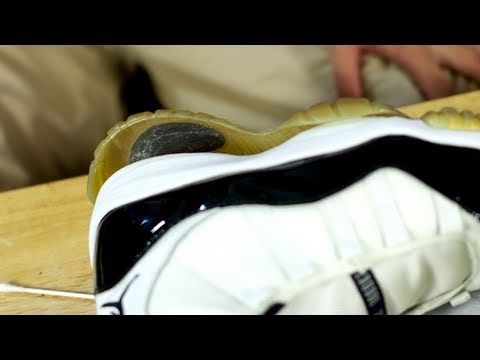 Fixing Sole Separation on Air Jordan 11 Concords
