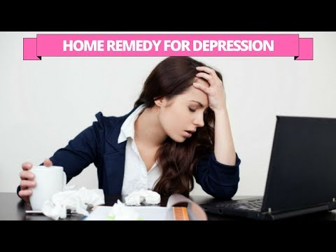 Natural home treatment for the depression