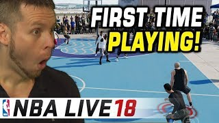 PLAYING NBA LIVE 18 FOR THE FIRST TIME! IS IT TRASH?